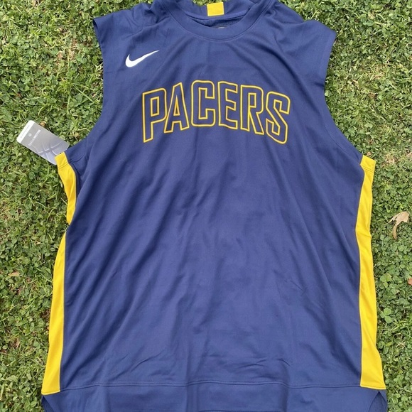 Nike Indiana Pacers Warm Up Jersey Player Issued